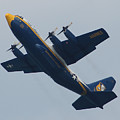Blue Angel's B-25 by Robert Banach