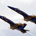 Blue Angels Iv by Gigi Ebert