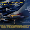 Blue Angels Ta-4j Skyhawk by Richard Hamilton