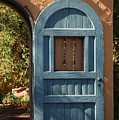 Blue Arch Door by Timothy Johnson