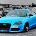 Blue Audi by Vicki Spindler