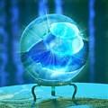 Blue Ball by Rene GrayMitchell
