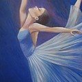 Blue Ballerina by Catalina Decaire