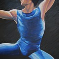 Blue Ballerino by Catalina Decaire