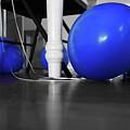 Blue Balloons by Jennifer Ancker