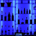 Blue Bar by Clayton Bruster