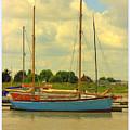 Blue Barge by Eric Wallis