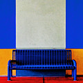 Blue Bench by Curtis Staiger