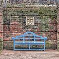 Blue Bench by Patty Colabuono