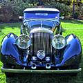 Blue Bentley by David King