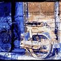 Blue Bike Abandoned India Rajasthan Blue City 2c by Sue Jacobi