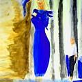 Blue Bird Of Happiness by Stanley Morganstein