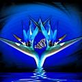 Blue Bird Of Paradise by Joyce Dickens