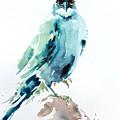 Blue Bird by Pornthep Piriyasoranant