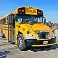 Blue Bird Vision School Bus by Ben Schumin