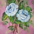 Blue Blue Roses by Irenemaria Amoroso