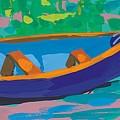 Blue Boat by Sarah Gillard