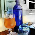 Blue Bottle by Martine Affre Eisenlohr