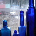 Blue Bottles by Bobbi Mercouri