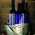 Blue Bottles by Georgia Sheron