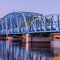 Blue Bridge Georgia Florida Line by William Randolph