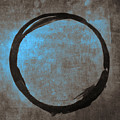 Blue Brown Enso by Julie Niemela