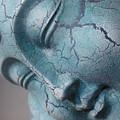 Blue Buddha Of Serenity by Edan Chapman
