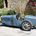 Blue Bugatti Oldtimer by Christiane Schulze Art And Photography