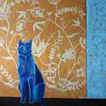 Blue Cat by Aliza Souleyeva-Alexander