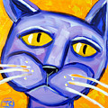 Blue Cat by Ilene Richard