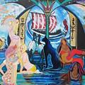 Five Celestial Celebrations                                        Blaa Kattproduksjoner  -  by Sigrid Tune