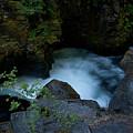 Blue Cauldron Waterfall by Robin Frazier