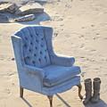 Blue Chair by Bridgette Gomes