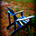 Blue Chair by Perry Webster