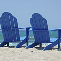 Blue Chairs by Frank DiMarco