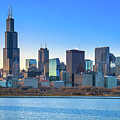 Blue Chicago by Tony HUTSON