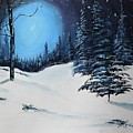 Blue Christmas by Jan Dappen