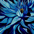 Blue Clematis by Julie Pflanzer