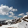 Blue Cloudy Sky Over Spring Tatra Mountains, Poland, Europe by Lukasz Szczepanski