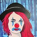 Blue Clown by Gary Holden