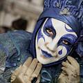 Blue Clown by Stefan Nielsen