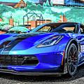 Blue Corvette by Dan Sproul