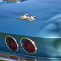 Blue Corvette Stingray by Dean Ferreira