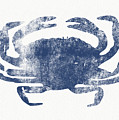 Blue Crab- Art By Linda Woods by Linda Woods