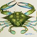 Blue Crab by Stephanie Przybylek