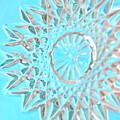 Blue Crystal Snowflake by Bonnie See