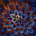 Blue Dahlia by Barbara Berney