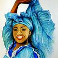 Blue Dancer  by Karin  Dawn Kelshall- Best