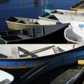 Blue Dinghies Of Rockport by AnnaJanessa PhotoArt