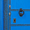 Blue Door Accents by Lindley Johnson